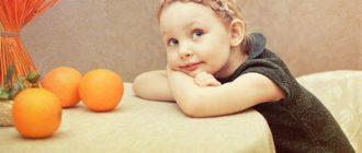 Девочка с апельсинами