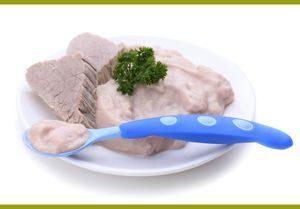 Прикорм мясом