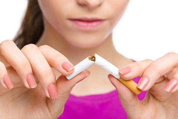 разломанная сигарета