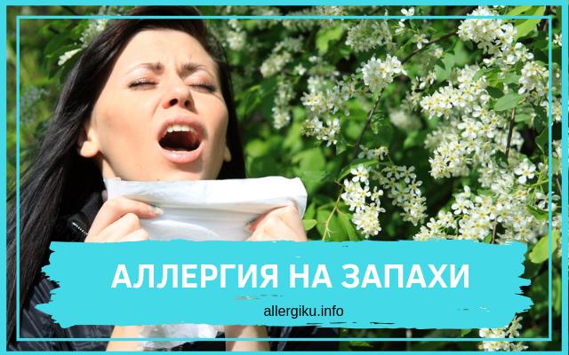 аллергия на запахи