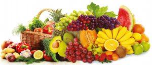 фрукты и овощи в рационе